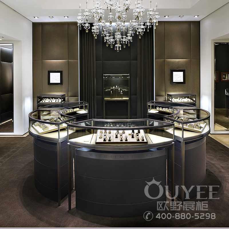 厂家直销精品珠宝不锈钢展柜