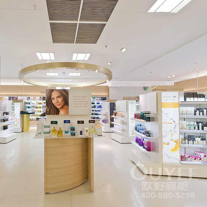 香水香料化妆品展柜