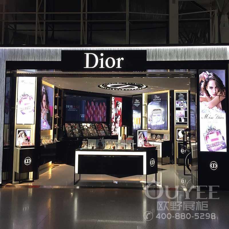 厂家专业制作化妆品展示柜