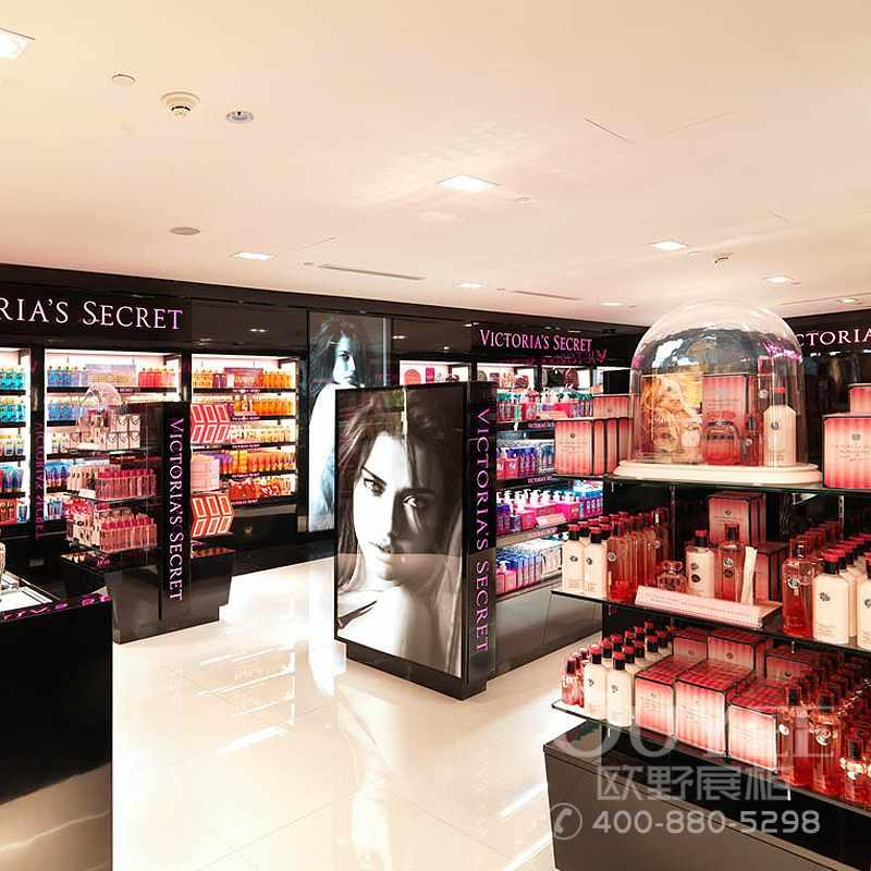 香水化妆品彩妆精品展示柜