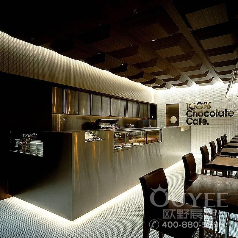 咖啡屋食品吧台设计装修制作