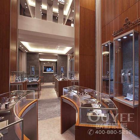 玉器展柜商场珠宝玻璃展示柜