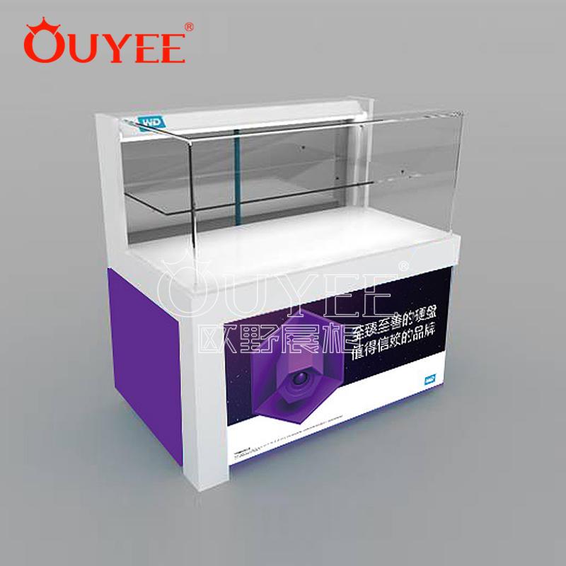 现代手机展品展示柜   烤漆/玻璃手机展示柜 工厂批发定做展示柜